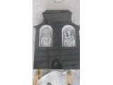 Sink Carved Headstone With Wings
