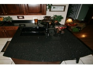 Hot Sell Black Galaxy Granite